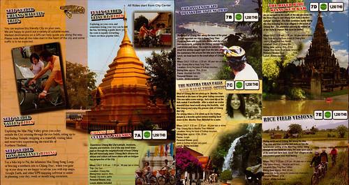 Brochure Chiang Mai Mountain Biking & Kayaks City Tour 2