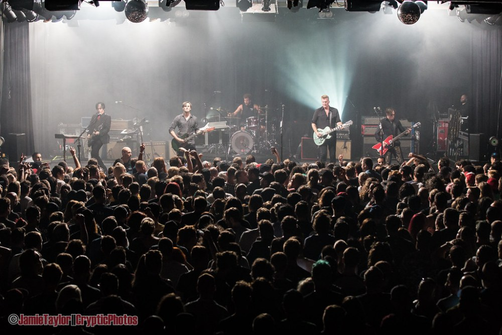 American rock band Queens Of The Stone Age performing at The Commodore Ballroom in vancouver, BC on August 4th 2018