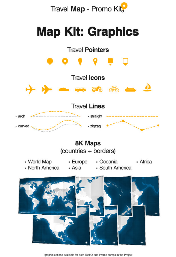 Videohive travel map promo kit free after effects template view demo data web page after effects free download gumiabroncs Images