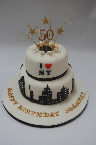 Star Burst New York Cake Beautiful Birthday Cakes