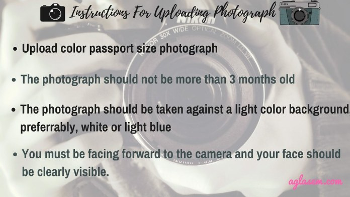 SNAP 2018 Photo Requirements