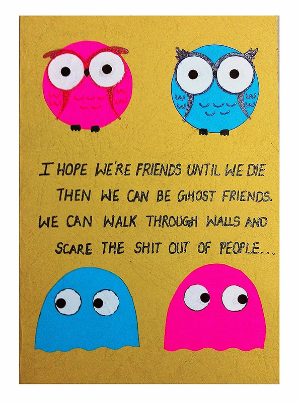 friendship day card for best friends