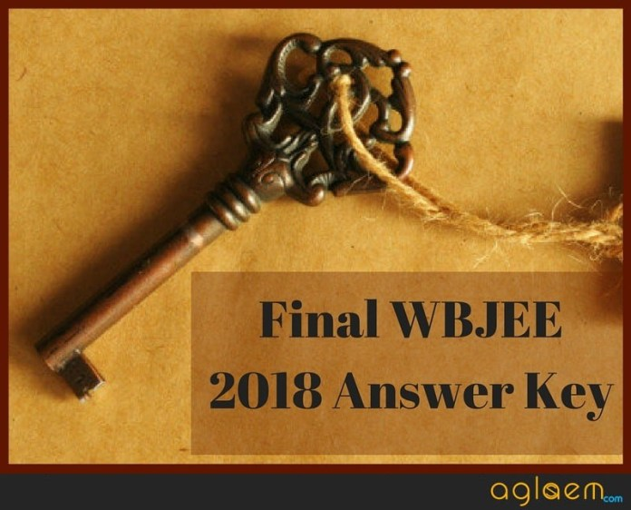 WBJEE 2018 Answer Key