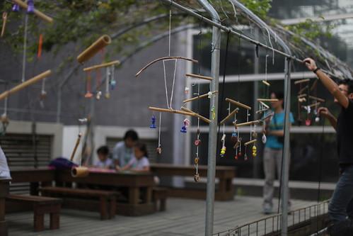 2018樹谷園區親子木作坊:「吊起你的小回憶」竹子吊飾
