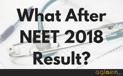 NEET 2018 result after process