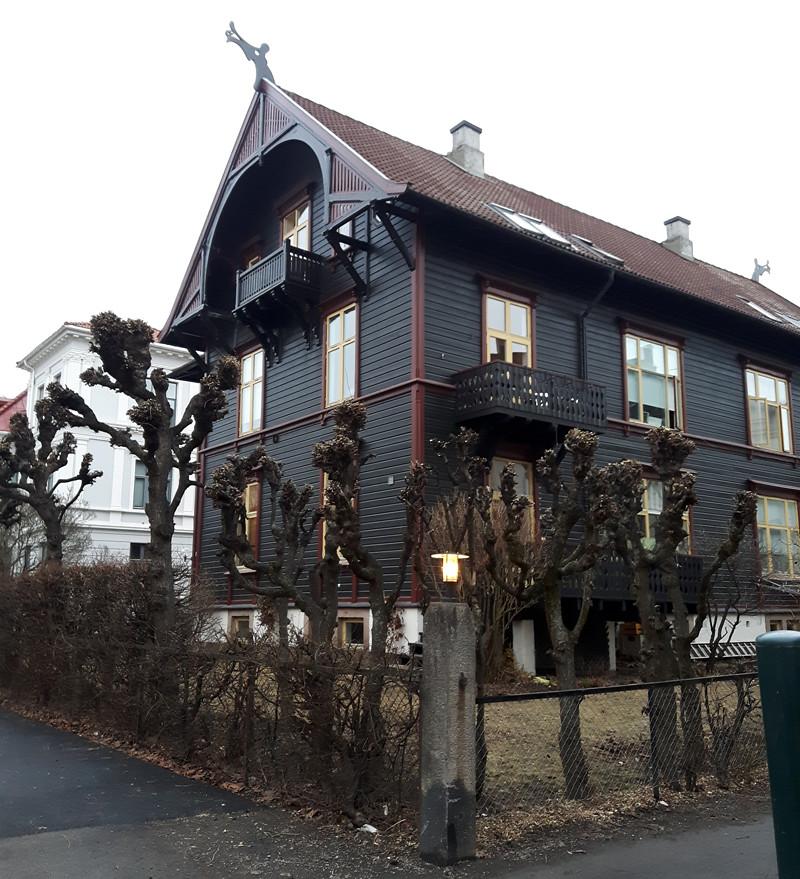 viking house black house oslo norway