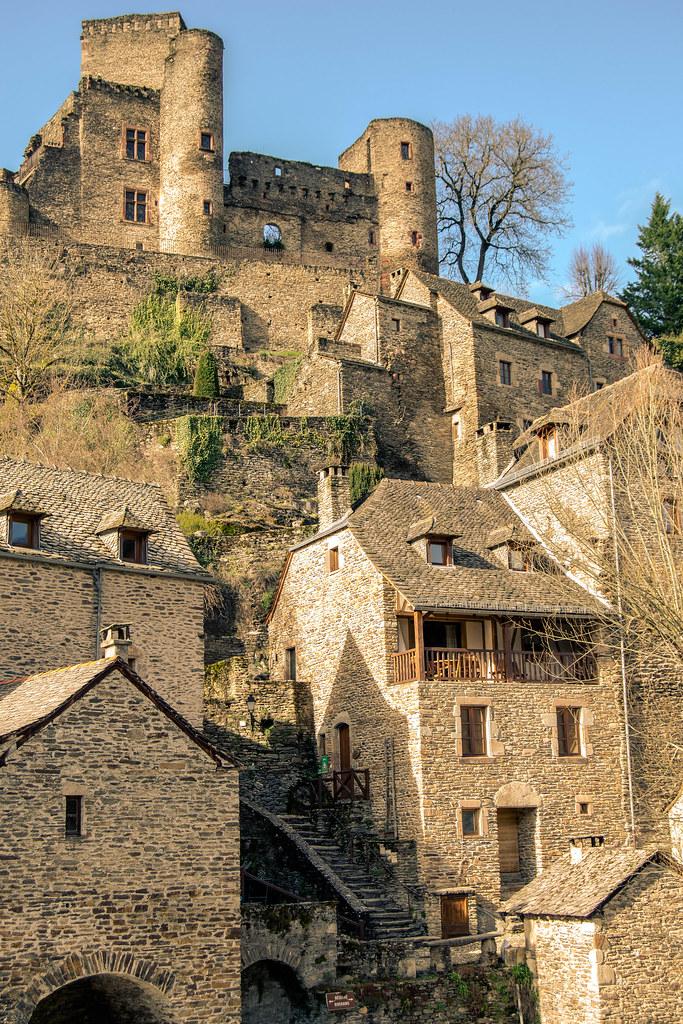Población de Belcastel, en el Departament de l'Aveyron