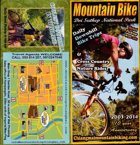 Brochure Chiang Mai Mountain Biking & Kayaks Mountain Bike Tour 1