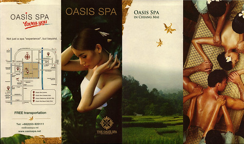 Brochure Oasis Spa Chiang Mai Thailand 1