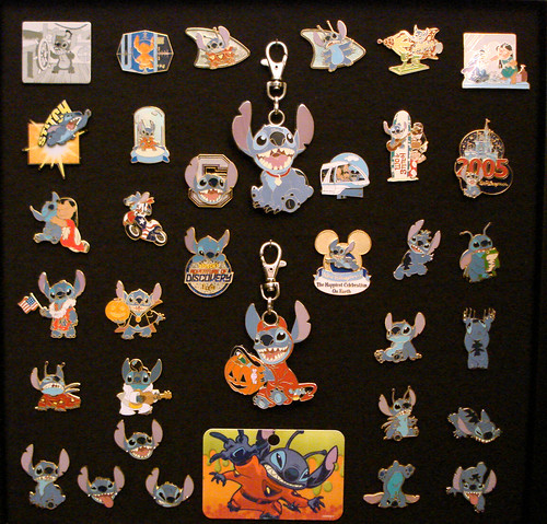 Stitch Pins My Collection Of Stitch Pins From Our Disney