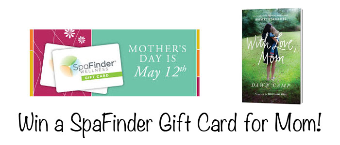 Win a SpaFinder Gift Card for Mom!