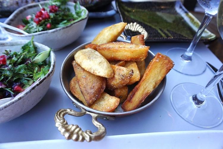Gluten free chips (Coeliac safe, fried separately) from Skewd Kitchen in Cockfosters | Gluten free Cockfosters | Gluten free North London | Gluten free Barnet | Gluten free Turkish restaurant