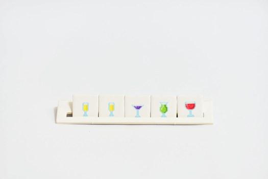 酒譜指示物與酒譜架