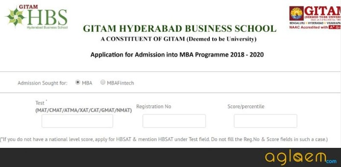 HBSAT 2018 Application Form : Apply Here for GHBS HBSAT 2018  %Post Title, %Post Category, AglaSem