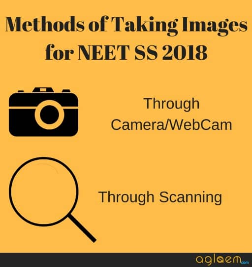 NEET SS 2018 Images (Photo, Signature) For Application Form