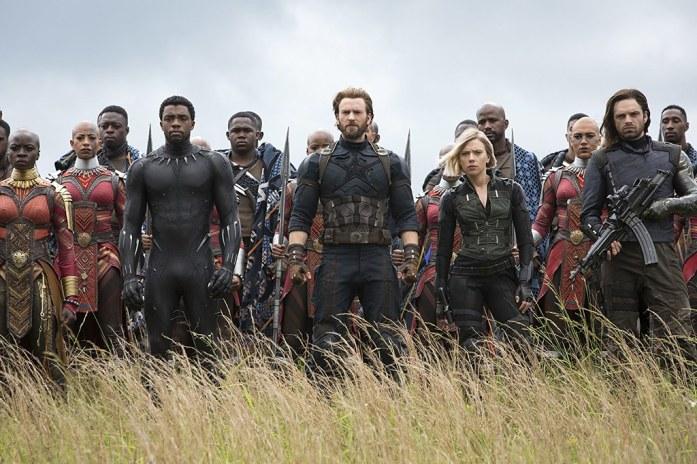 Avengers Infinity War Reunion