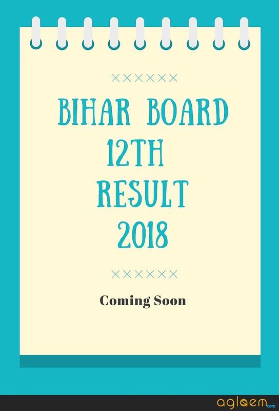 Bihar Board 12th Result 2018