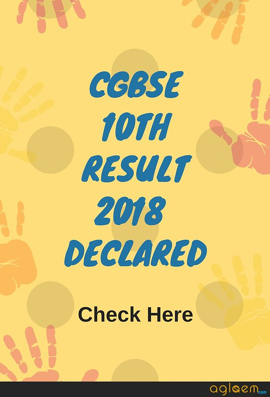 CGBSE 10th Result 2018