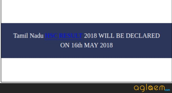 Tamil Nadu 12th Result 2018