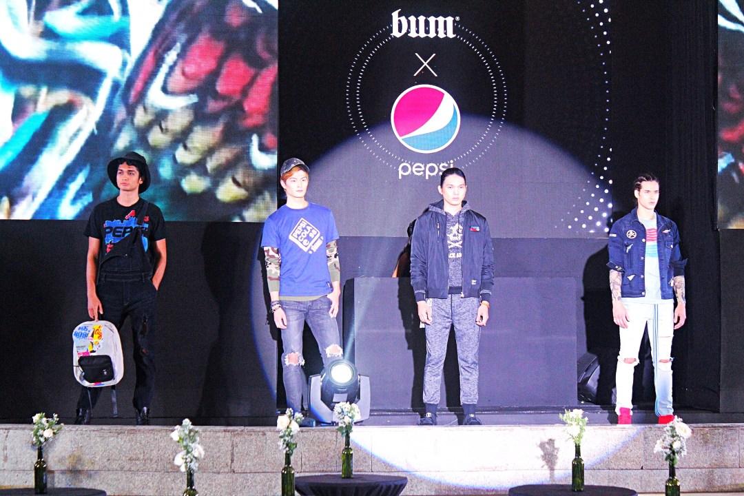 BUMxPepsi Collection Launch Fashion Show