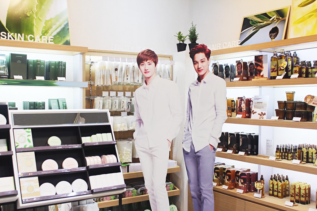 EXO Nature Republic Grand Opening at UPtown Mall