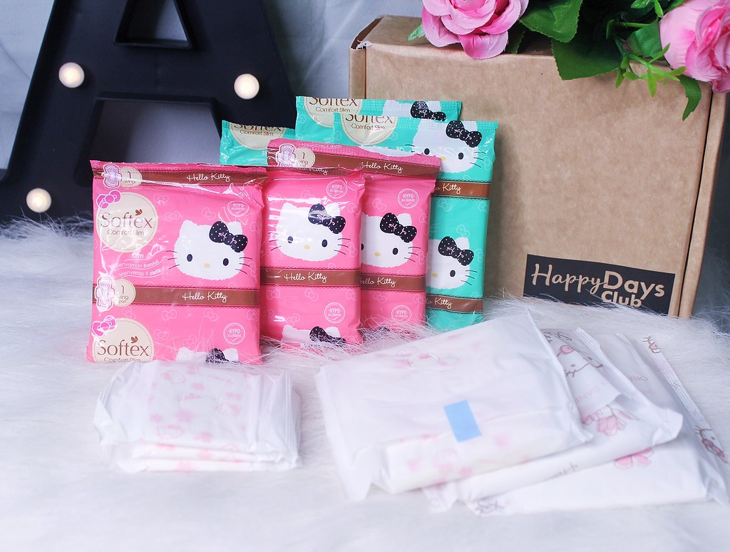SOFTEX HELLO KITTY PADS