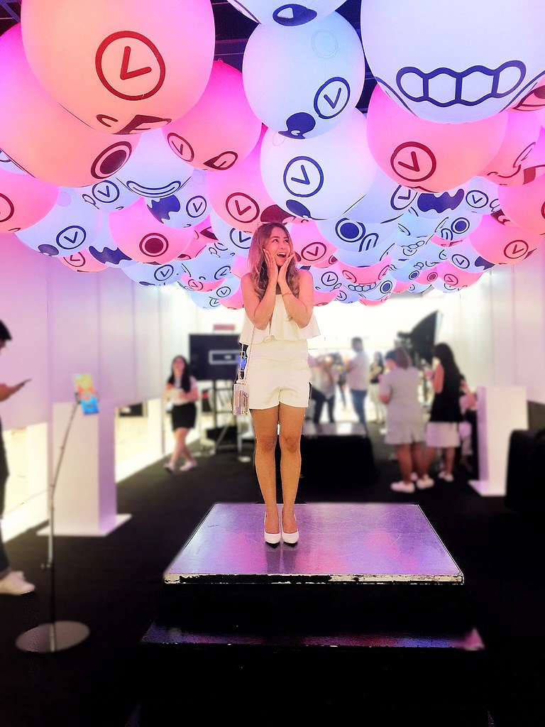 AyeshaHEart at MEGAfeels Light Your Mood Art Installation