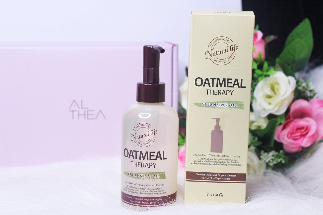 CALMIA OATMEAL THERAPY CLEANSING OIL