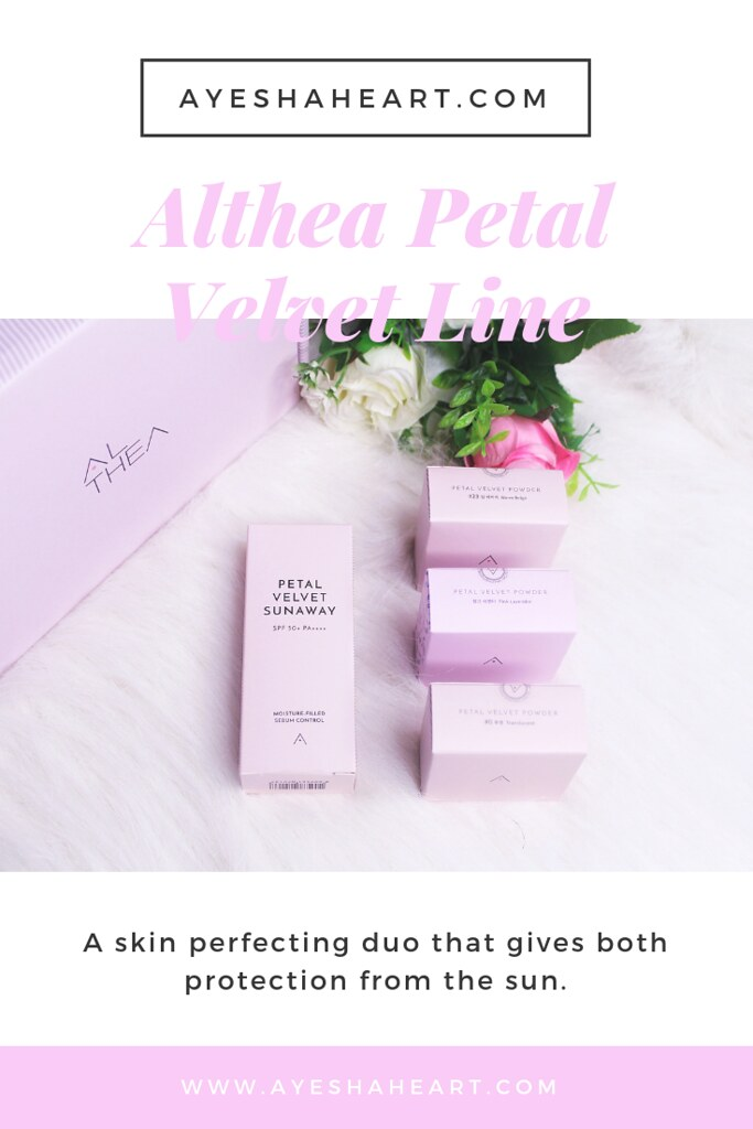 Althea Petal Velvet line | www.ayeshaheart.com