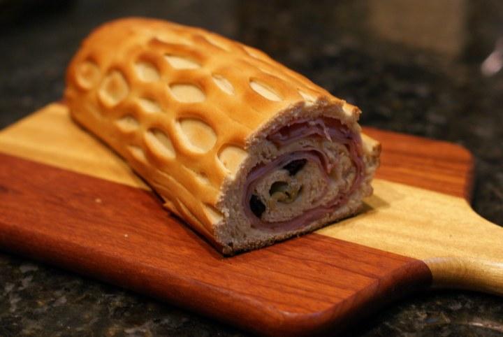 Resultado de imagen de pan de jamon