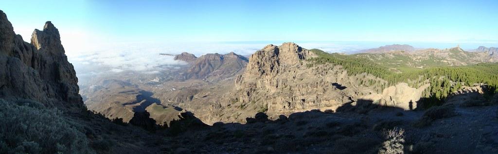 panoramica Pico de las Nieves Isla de Gran Canaria 03