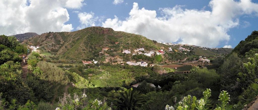 Vista desde Jardin Canario o Jardin Botanico Viera y Clavijo Las Palmas de Gran Canaria 08
