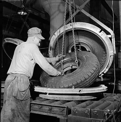machine a pneu