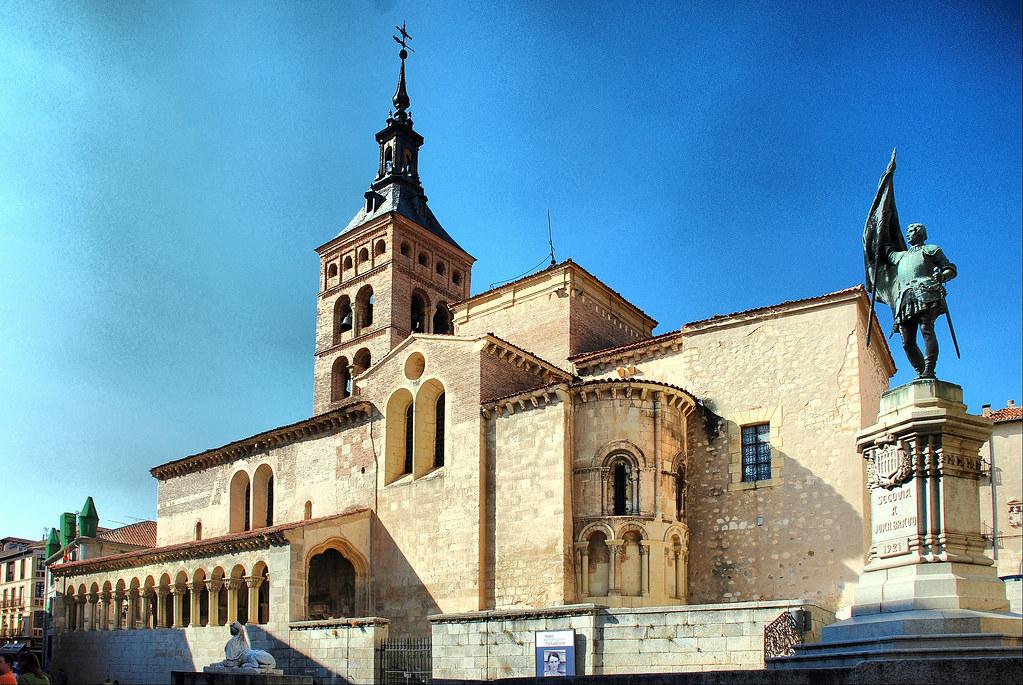 Resultado de imagen de iglesia de san martín segovia