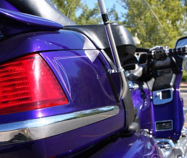 Illusion Blue Honda Goldwing By Nick Kc7cbf