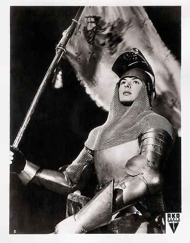 Ingrid Bergman In Joan Of Arc 1948 German Collectors