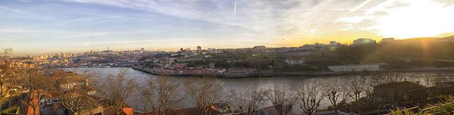 Panorama Douro From Palacio
