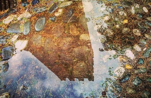 La Rocca nella pozzanghera. #igerspiacenza #igersitaly #piacenza #igersemilia #castellarquato #castelli