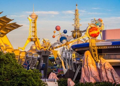 Sunset on Tomorrowland