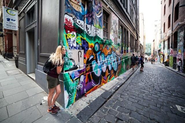 Street Art ,Melbourne CBD