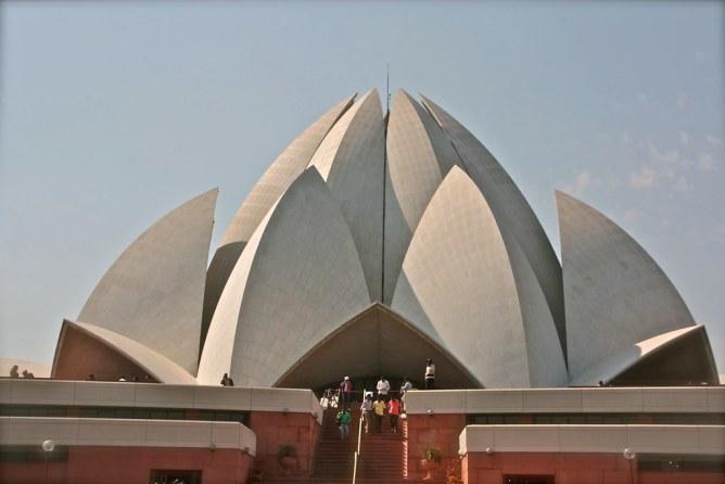 Lotus temppeli Delhi