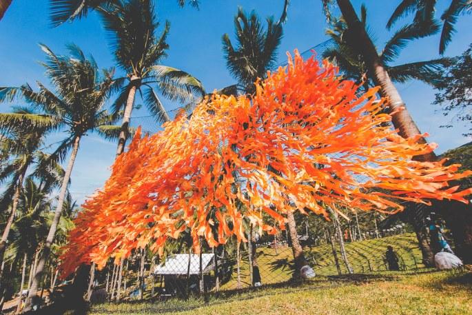 Wawi Navarroza and Ling Ramilo Installation