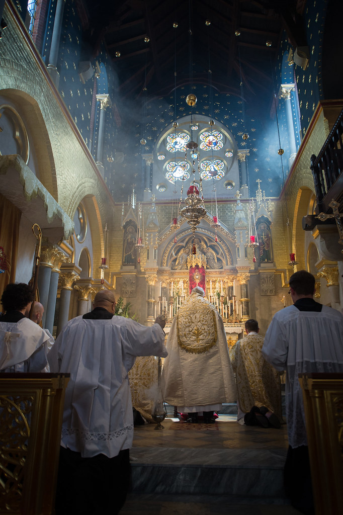Corpus Christi Solemn Mass And Procession In Covent Garden By Catholic Church England