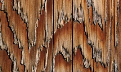 Wood Grain Pole | Wooden Thing