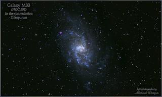 2018 Aug. 10 ~ M33, the Triangulum Galaxy ...