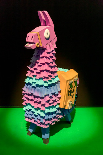 Fortnite Believer Llama Figure At Gamescom 📷 Stock