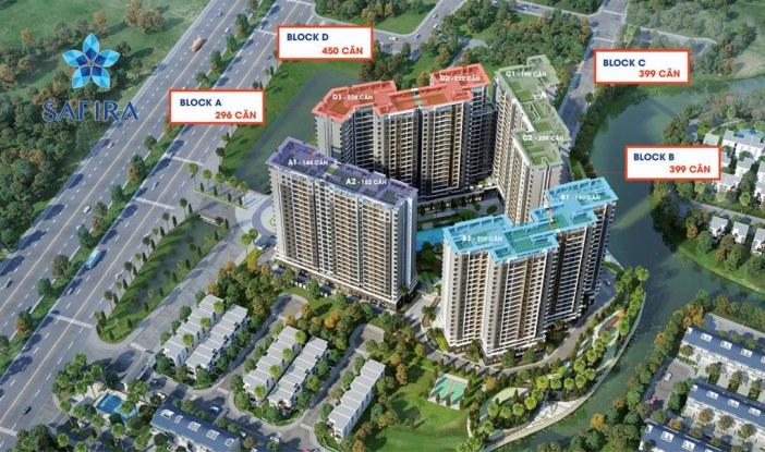 Thông tin căn hộ chung cư Safira Khang Điền Quận 9