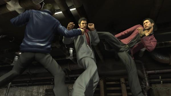 Yakuza 4 gameplay