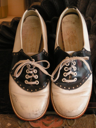 Saddle Shoes 30 Year Old High School Drill Team Shoes