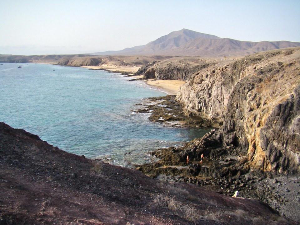 Los Ajaches Playas Papagayo y Quemada Lanzarote 07